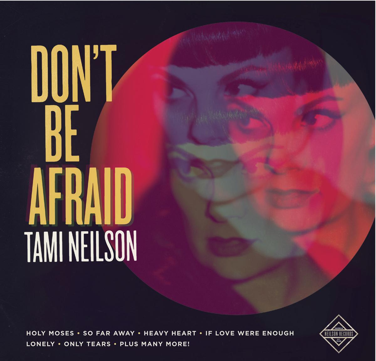 Don't be Afraid album cover