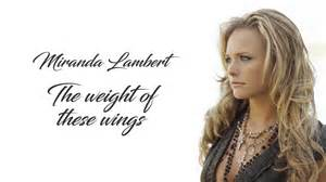 Album Review: Miranda Lambert–<I>The Weight of These Wings</I>
