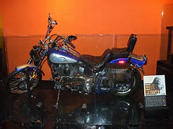 Keith Whitley's Motorcycle